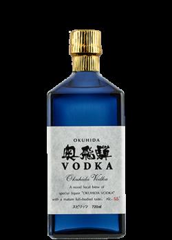 Flasche Okuhida Vodka