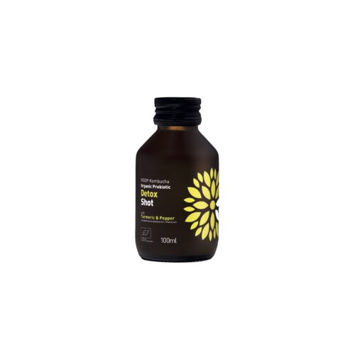 Kombucha wellness detox shot